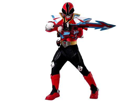 Power Rangers Super Samurai: Shark Attack Mode|Look at the teeth on that sword! Though dreaded by Moogers everywhere, it still remains to be seen how a Power Ranger can cross over into powerful Shark Mode.