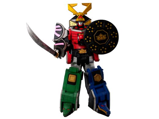 MegaZord|You know this guy! MegaZord is the sum of all the Rangers' powers and turning into this towering trooper is the only chance they stand against the jumbo-sized Nighloks that terrorize Earth.