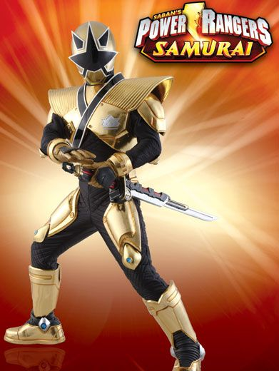 As Good as Gold|This ranger may look like a scary Samurai, but he battles only for the good guys!