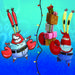 Kringle Krabs|Even Mr. Krabs is taking a holiday break from penny-pinching?! It's a Christmas miracle!