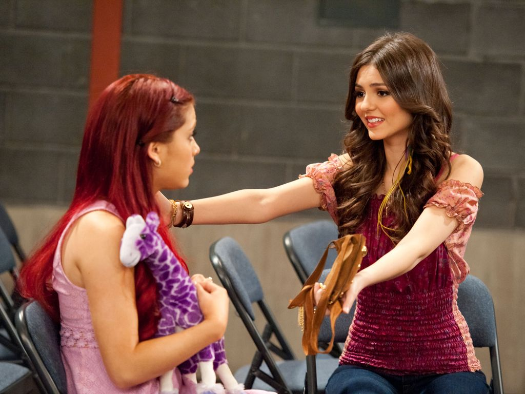 Hugs All Around|Has something upset Cat? It can't be anything a hug from Tori (and Mr. Purple) can't fix!