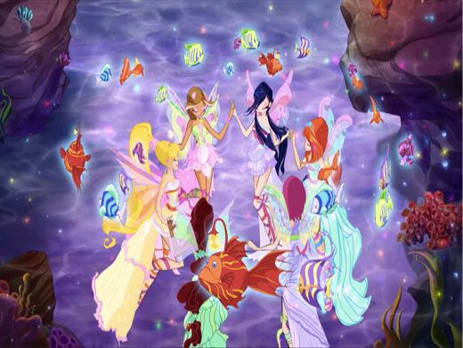 Under the Sea|The fairies are unstoppable on land, air, and sea!