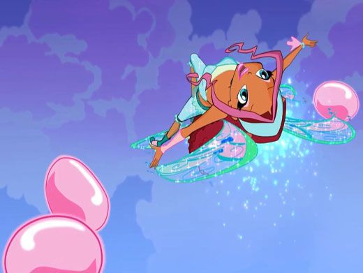 Flying Fun|Aisha uses her morphix powers to show off her acrobatic skills! No one is going to want to miss this concert!
