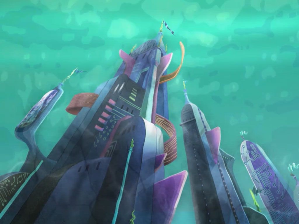 Toxic!|Data Bridge Castle is polluted! Can Tecna's guardian of Sirenix help the girls out?