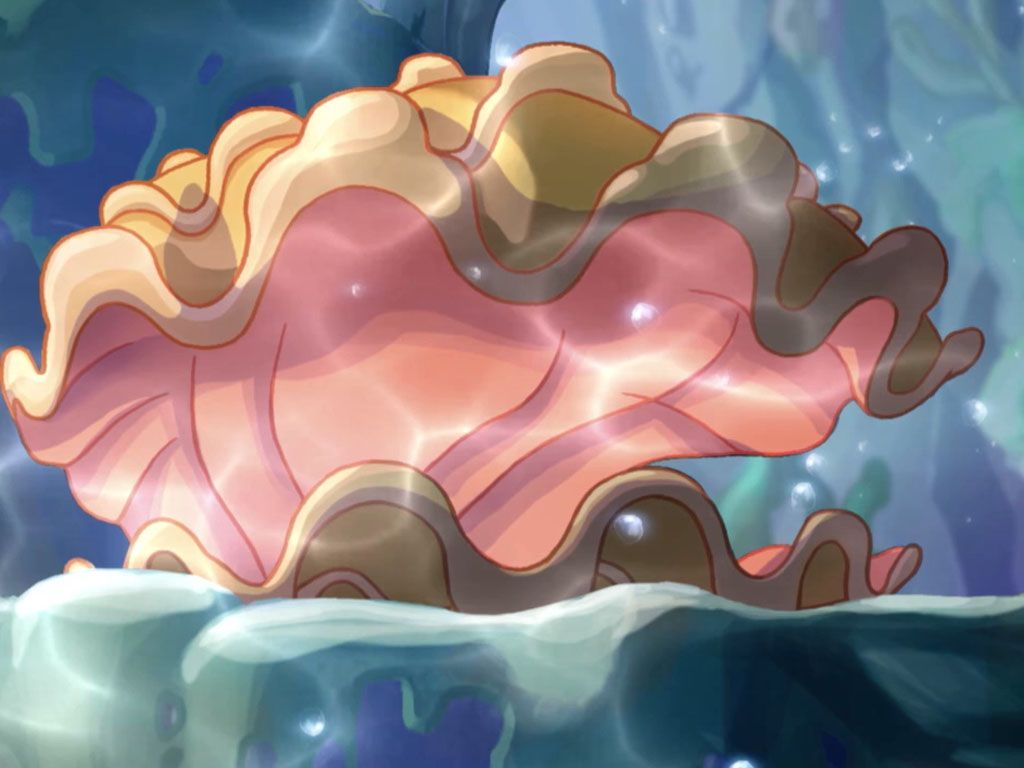Finally|The Shimmering Shells have opened! This must be good news for the Winx!
