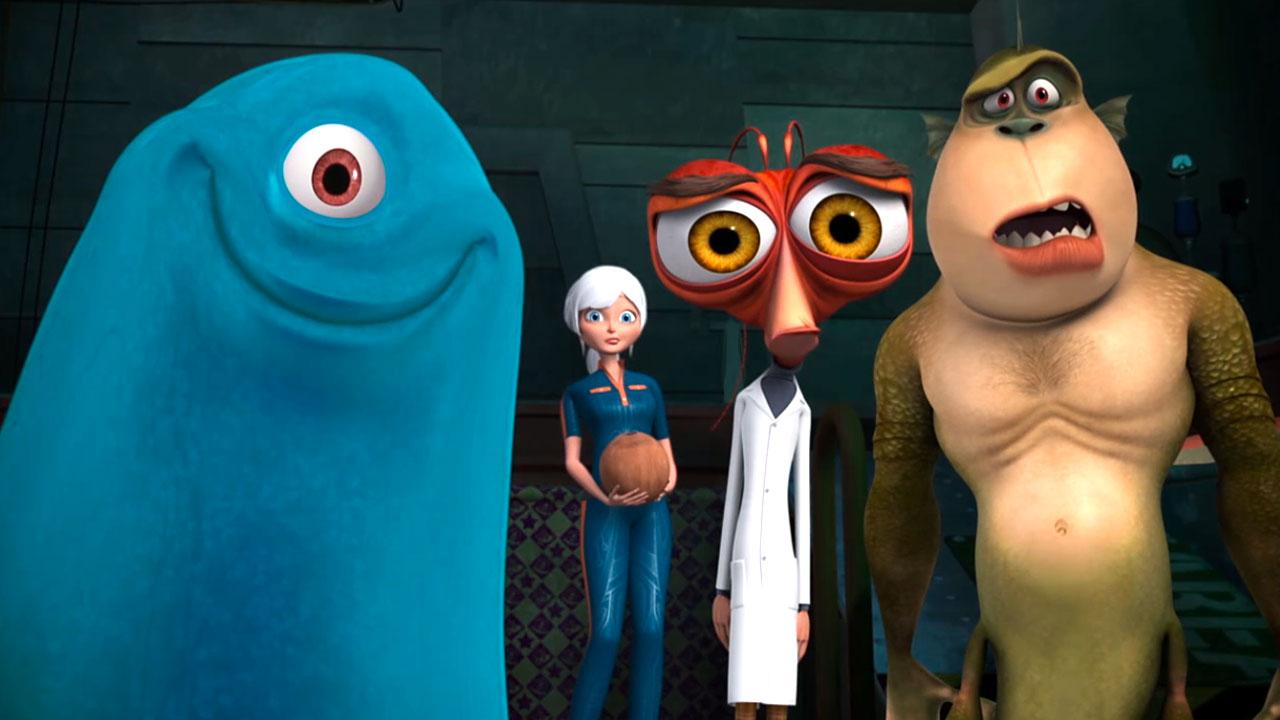 Monsters Vs. Aliens -