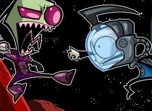 Dib picture, Invader Zim