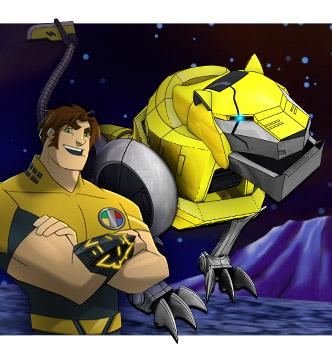 Hunk - The Yellow Lion Picture - Voltron Force
