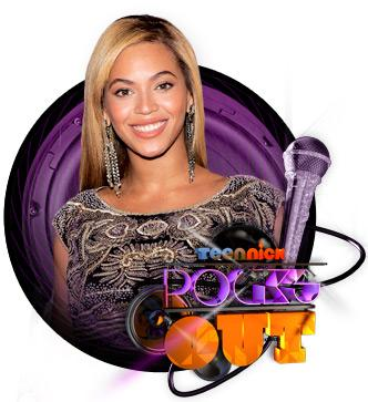 Beyonce Picture - TeenNick Rocks Out